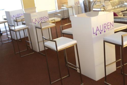 Lauren logo hi top