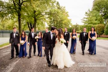 Biegelman bridal party