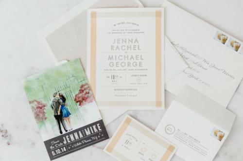 Jenna  Mike's invitation