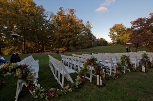 Lyndhurst ceremony chairs