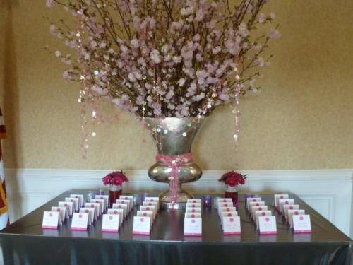 Ryan escort card table