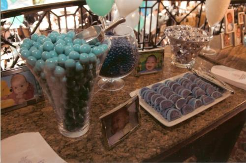 christening candy bar