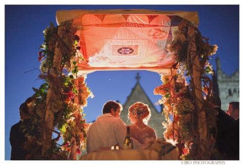 outdoor orthodox ceremony